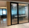 Aluminium Office Cabin with Style Door Frame