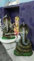 Nag Devta Marble Statue