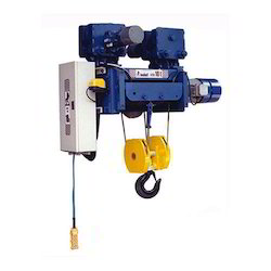 Indef HW Model Wire Rope Hoist Model
