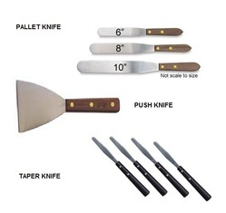 palette knife at best price in india