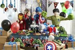 复仇者主题生日派对装饰