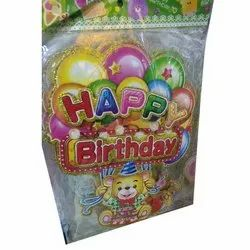 Paper Party Supplies Banner, Packaging Type: Packet
