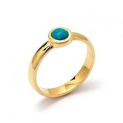 Natural Emerald Sapphire Ring (Panna)