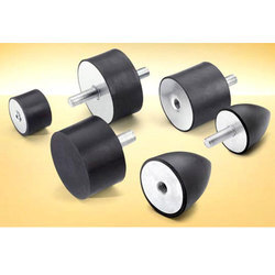 Black Rubber Mountings