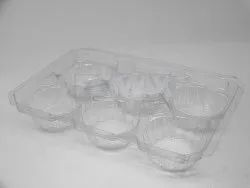 Transparent Muffin Blister Tray