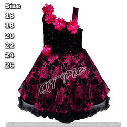 fc79313a0 QT Pie Baby Girls Party Wear Frock Dress - SS Lifestyle
