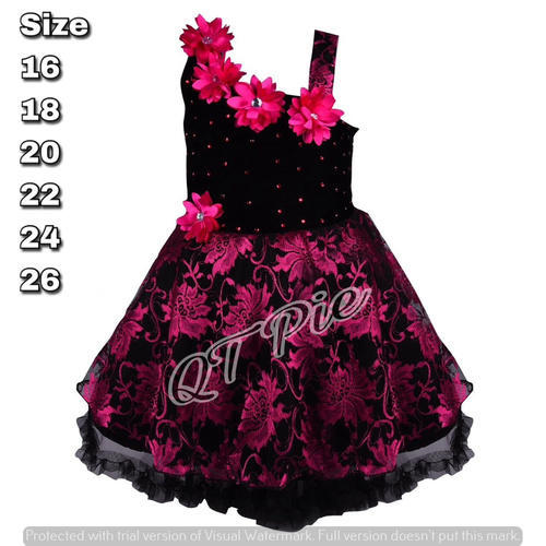 d9bd2a1598 QT Pie Baby Girls Party Wear Frock Dress - SS Lifestyle