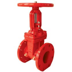300mm Cast Iron Double Flange outside Sluice Valve