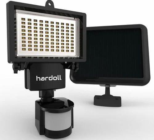 ABS Plastic & Aluminum Hardoll 90 LED Solar Motion Sensor Flood Lights Or Solar Spot Light
