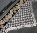 Fabric Metal Chain Coin Fringe Vintage Fashion Womens Party Jewelry