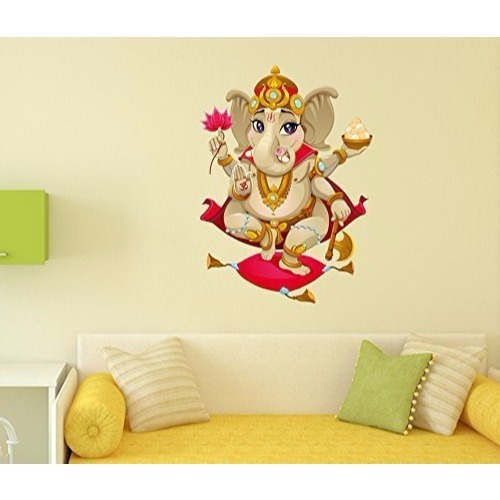 pvc vinyl shree ganesh wall decal, rs 299 /piece, friends digital