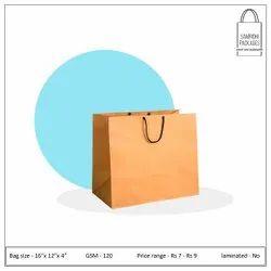 Kraft Brown Paper Shopping Bag