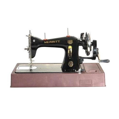 Manually Operated Merritt Universal Sewing Machine, for Medium Material