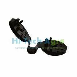 Hitech Agro Black Shed Net Clamp, Size: 3 inch