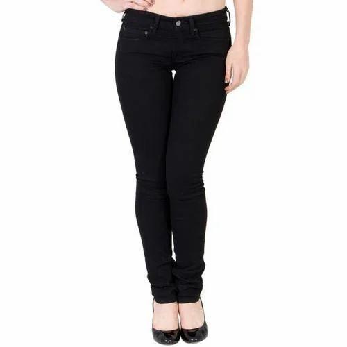 Schwarze Jeans Mädchen — foto 5