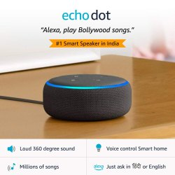 Echo Dot (3rd Gen)  New And Improved Smart Speaker With Alexa