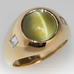 Natural Cats Eye Ring