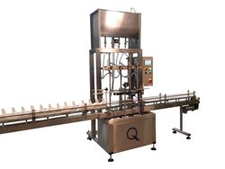 Automatic Liquid Filling Machine, Packaging Type: Bottles