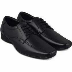 Lace Up Abelardo De Moda Mens Black Formal Leather Shoes, Size: 6-11