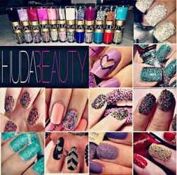 Huda Beauty huge combo with nail paints, liquid lipsticks and foundation