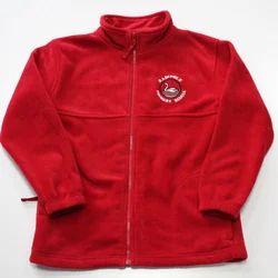 Plain Red Kids Jacket