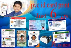 PVC Id Card Printing Services