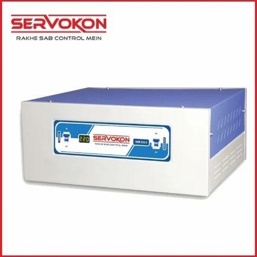Single Phase Aluminium and Copper Digital Voltage Stabilizers