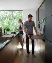 L Shape Residential Modular Kitchen