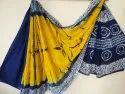Tie And Dye Cotton Saree