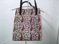 Shoulder Bag Hand Bag Cotton Printed Bag Women Bag Shopping Bag Block Printed Bag