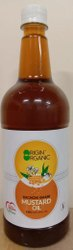 Origin Organic Kachchi Ghani Mustard Oil, Packaging Type: Plastic Container