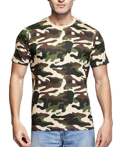 Clifton Men's Army T-shirt at Rs 450 /piece | Mens T-shirts | ID ...