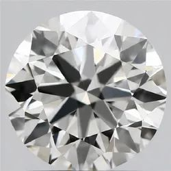 1.31ct Lab Grown Diamond CVD I VVS2 Round Brilliant Cut IGI Certified Stone