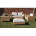 Garden Luxury Wicker Sofa Set