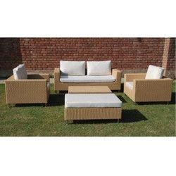 Garden Luxury Wicker Sofa Set