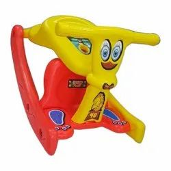 Yellow 2 In 1 Rocking Chair