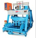 Semi Automatic Concrete Hollow Block Making Machine