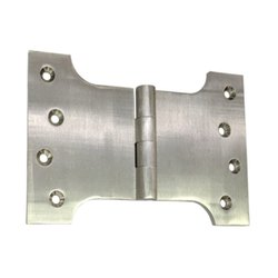 6inch Brass Parliament Hinge - Satin Nickel