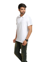 Adidas Men's White Polo T-Shirt