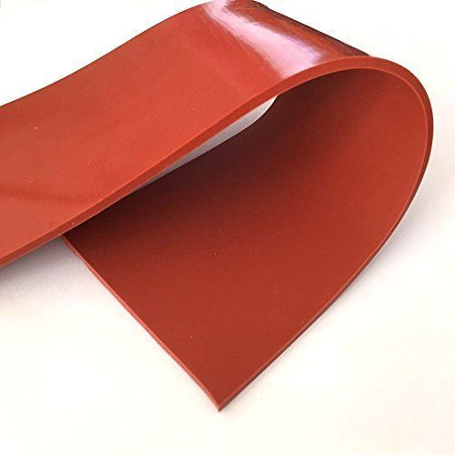 Red Silicone Rubber Sheet Thickness 5 25 Mm For Industrial Rs 360 Kilogram Id 7066476033