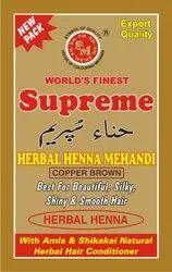 Supreme Herbal Copper Brown Henna Mehandi