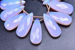 Pink Opal Quartz Pear Beads