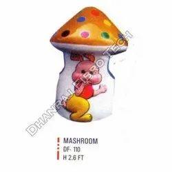 Colored Mushroom Dustbins