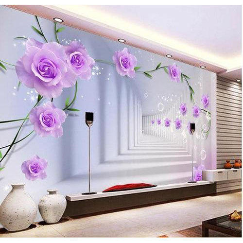 Designer Customized Wallpaper At Rs 55/square Feet