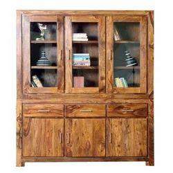 Wooden Brown Office Bookshelf