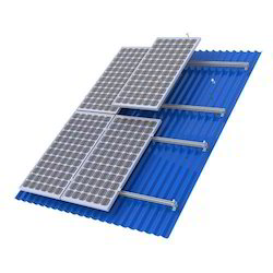 Solar Tile Roof Mounting Structure