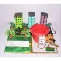 Aadhar Linked Smart Dustbin Model