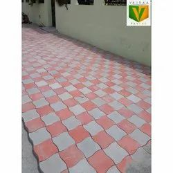 Concrete Outdoor Waves Paver Block, For Pavement, Thickness: 50 to 60 mm