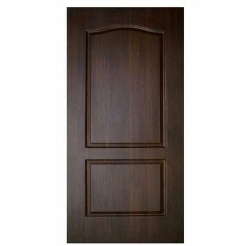 Brown Fiber Pvc Bathroom Door Design Pattern Plain Size Dimension 7x3 Feet Rs 1800 Piece Id 14353057033