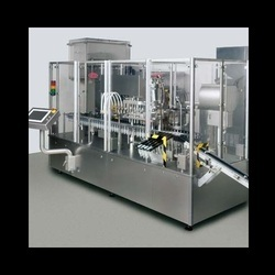 Sterile Vial Filling Machine with Rubber Stoppering